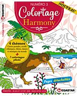 Coloriage Harmony - Numéro 3