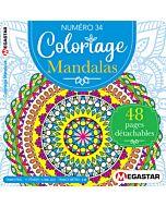 Coloriage Mandalas - Numéro 34