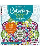 Coloriage Mandalas XXL - Numéro 19