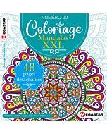 Coloriage Mandalas XXL - Numéro 20