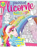 Passion licorne Coloriage - Numéro 7