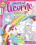 Passion licorne Coloriage - Numéro 8