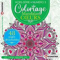Coloriage Mandalas XXL Hors-série - Numéro 3