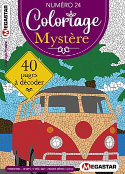 Coloriage Mystère - Numéro 24