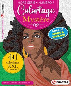 Coloriage Mystere Hors-série - Numéro 7