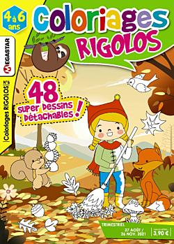 Coloriages rigolos - Numéro 6