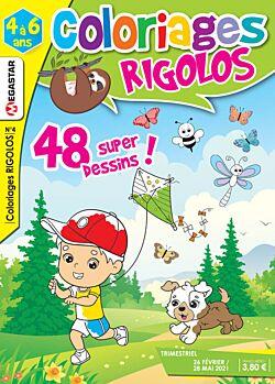 Coloriages rigolos - Numéro 4
