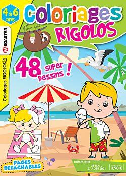Coloriages rigolos - Numéro 5