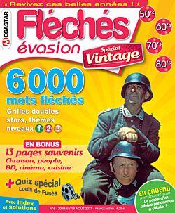 Fléchés Évasion spécial Vintage - Numéro 6