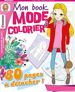 Mon book mode à colorier - Numéro 21