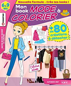 Mon book mode à colorier - Numéro 22