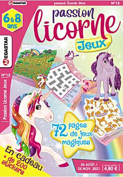 Passion licorne Jeux - Numéro 12