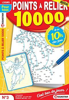 Points à relier 10 000 - Numéro 3