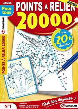 Points à relier 20 000 - Numéro 1