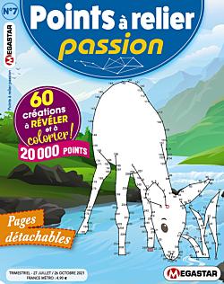 Points à relier Passion - Numéro 7