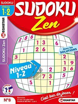 Sudoku Zen - Numéro 8