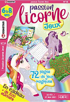 Passion licorne Jeux - Numéro 10