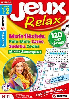 Jeux Relax - Numéro 11